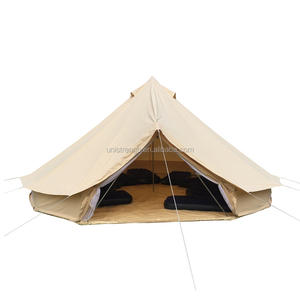 Best Festival Glamping 5m UK Canvas Bell Tents for Sale