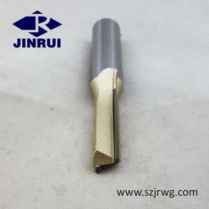 PCD Brazed Carbide straight shank gỗ phay cutter