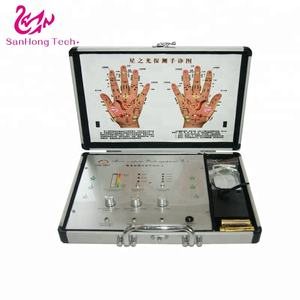 Microcomputer behandeling detectoren hand massage therapie fysiotherapie apparatuur machine