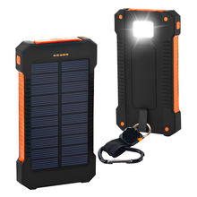 Best selling Consumer Electronics waterproof Solar power bank 20000mah, cheap rechargeable solar power banks