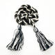 high quality colorful cotton braided tassel cord for hoodie