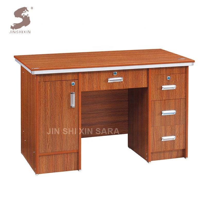 Newest executive modern office desk wooden computer table design