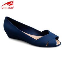 Sandalias mujer ladies slip on PVC jelly shoes women sandals