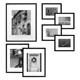 8x10 Frame Picture Frame 5 Colors Black White Solid Wood A1 A2 A3 A4 8X10 11X14 Inch Picture Photo Frame With Mat
