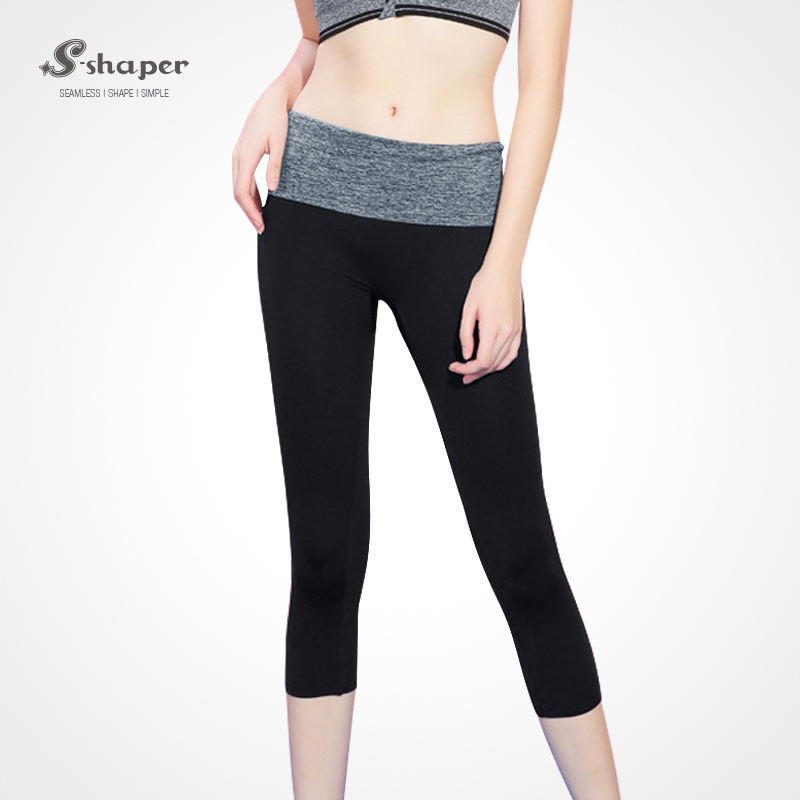 S-SHAPER Fitness Yoga Wear Sportswear Capri Yoga Pants For Women