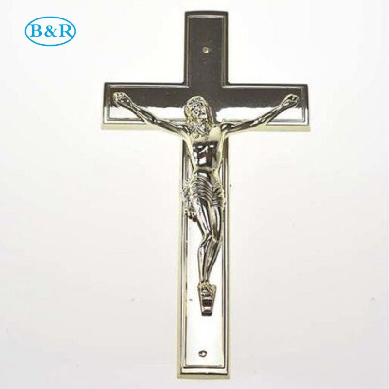 DP018 Funeral decoration coffin accessories Plastic cross