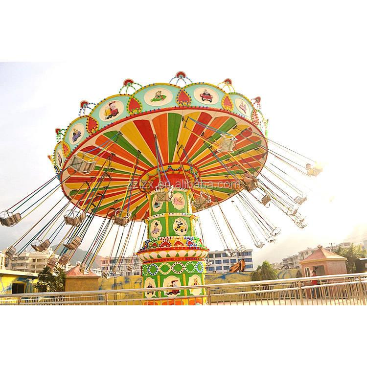 Manèges en plein air Manège Forain balançoire plateau tournant rotation grand tour de chaise volante à vendre