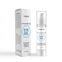 Private Label Best Eye Gel for Wrinkles Fine Lines Dark Circles Puffiness Bags Anti Aging eye gel for Men & Women 30ml OEM/ODM
