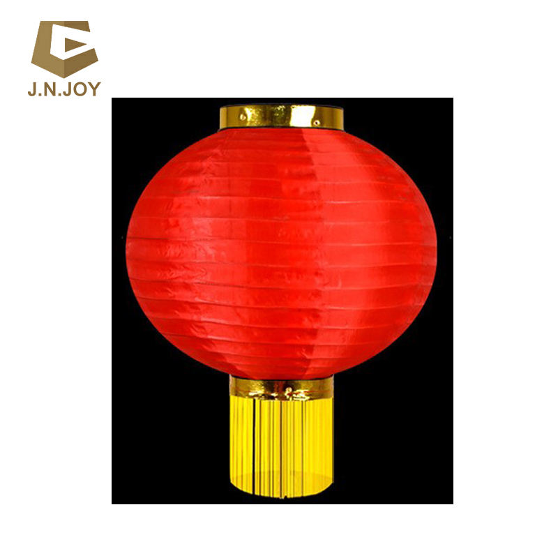 Customized Chinese traditional red silk lantern