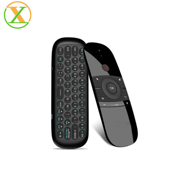 New Original W1 Fly Air Mouse Wireless Keyboard Mouse 2.4G Rechargeable Mini Remote Control For Smart Android Tv Box Mini Pc