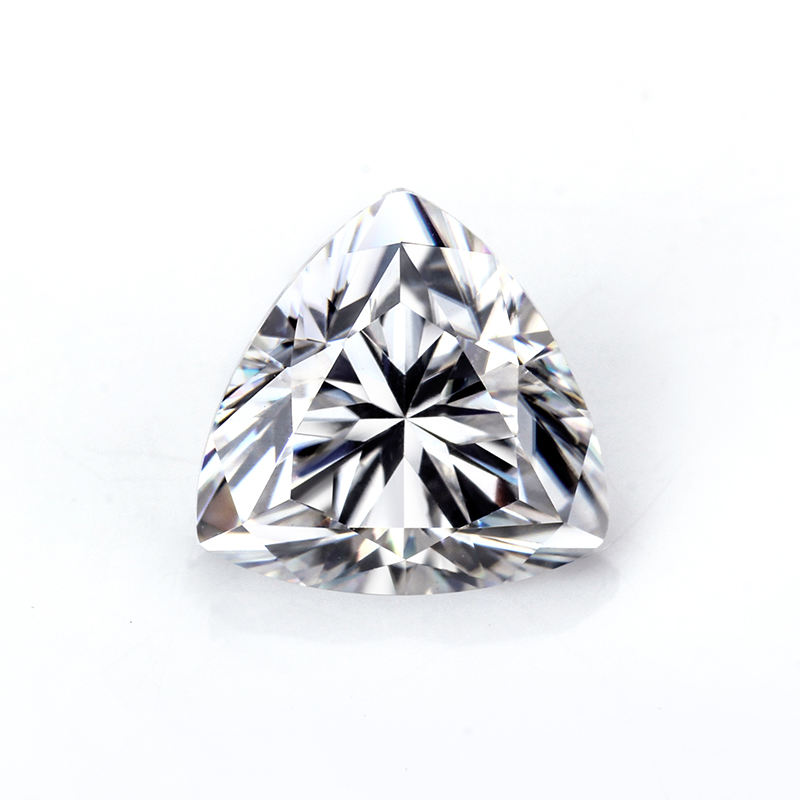 Def Reinem Weiß Vvs 8mm 1,6 karat Trillion Form Moissanite Diamant Lose Edelstein