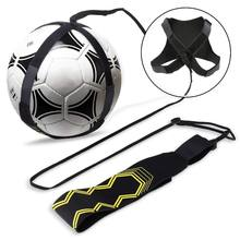 Custom logo adjustable solo kick soccer trainer football training equipment