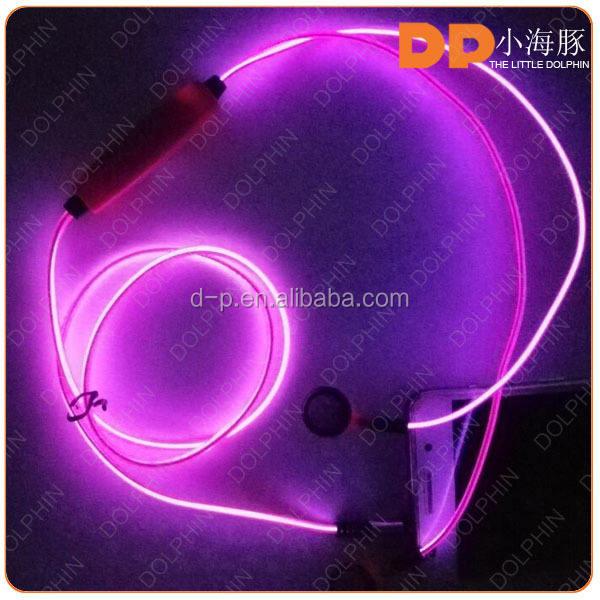 Nueva moda el glowing led auriculares de 3.5 mm Jack para auriculares