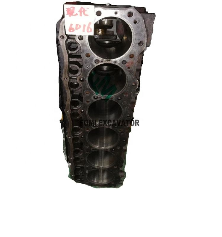 Diesel Engine 6D16 Cylinder Block Mitsubishi Engine Parts
