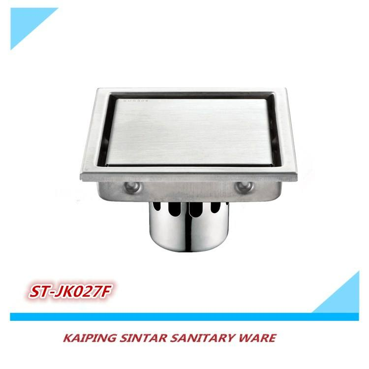 Hot sale stainless steel square drain/floor drain /tile insert