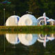 Unique design customized eco party geodesic dome tent for sale