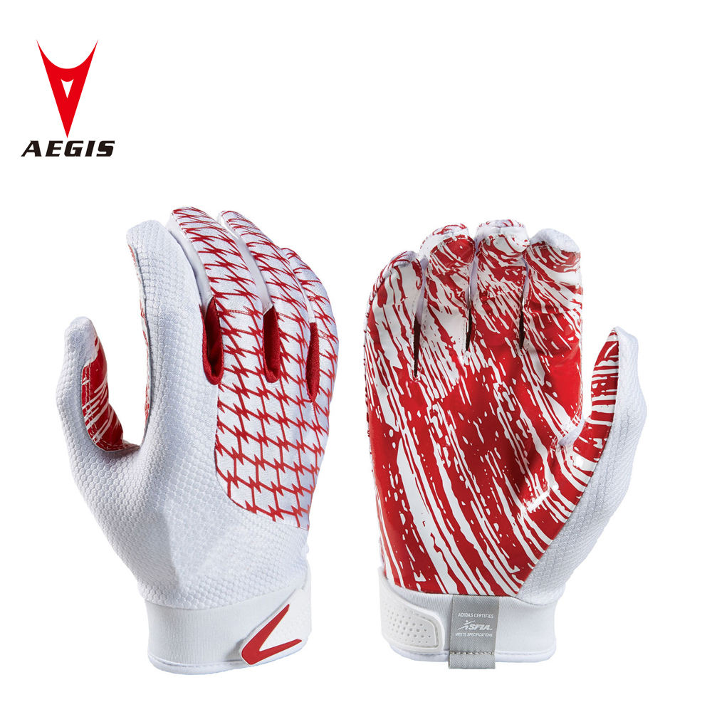 Adult American football gloves super sticky football gloves
