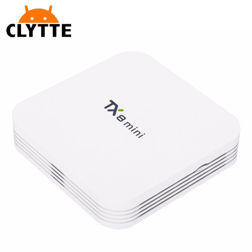 Clytte TX8 MINI tv box android 7.0 Amlogic S912 2gb hdd karaoke media player 2.4G/5.8G WIFI Bluetooth 4.0 4K Media player