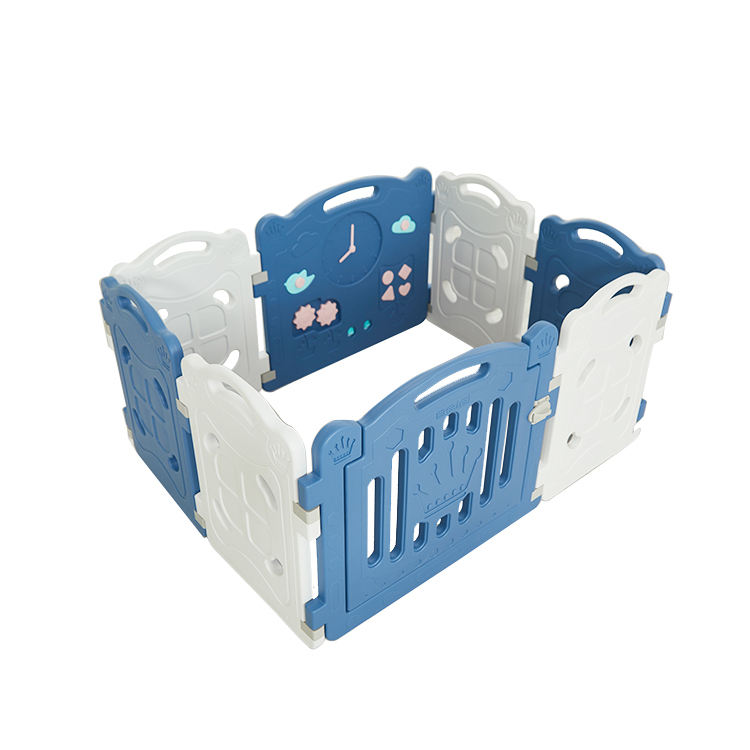 Environmentally Friendly Indoor Large Big White Plastic Baby Playpen Folding Toy