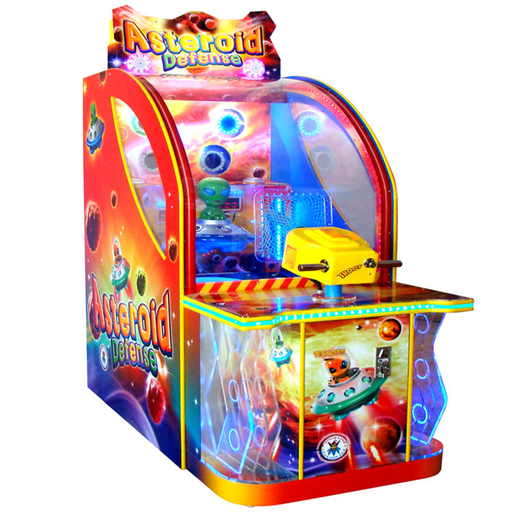 Elong Coin operated Amusement Games Machine Redemption Arcade Games Ticket Arcade Games The Celestial Body Defend