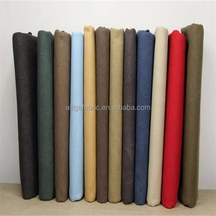 TC poly cotton combed yarn twill drills khaki fabrics wholesale for making casual pants