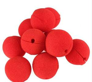 Biodegradable Sponge Foam Red Clown Nose