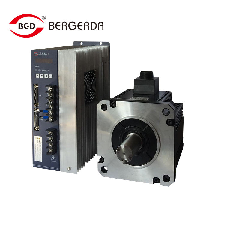 380V high pressure SDD 130 flange 2kw ac servo motor + servo drive 7.7 Nm 2500rpm with cable and low servo motor price
