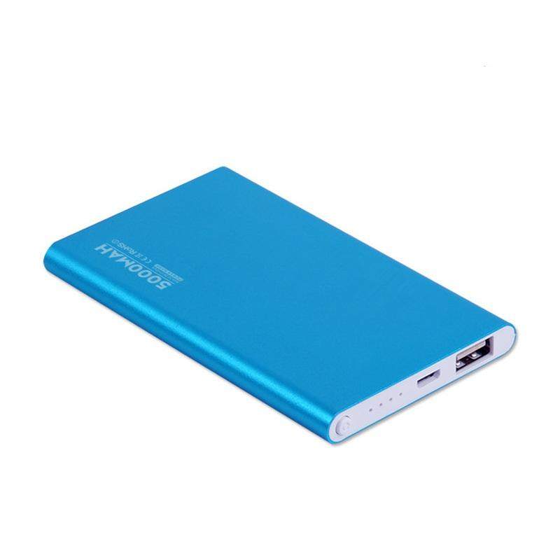 2016 Kapasitas Tinggi Portable Power Bank 4000 MAh Slim Polimer Portabel Mobile Power