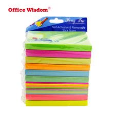 "Macaron color sticky pad self adhesive memo pads paper sticky notes Fluorescent colors 3x4"" sticky notes"