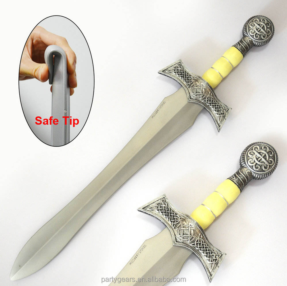 LARPGEARS PU Foam Medieval Sword Highlander Claymore Ceremonial Sword Inflatable sword