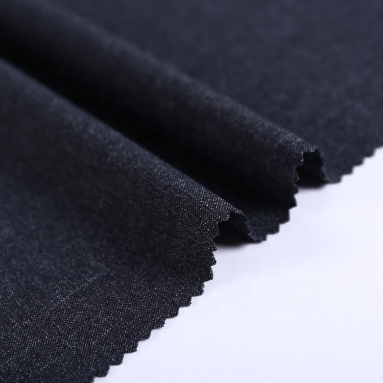 Shaoxing hot selling custom white spandex jacquard woven four way stretch fabric