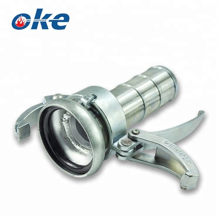 Okefire Perrot Female Carbon Steel Coupling