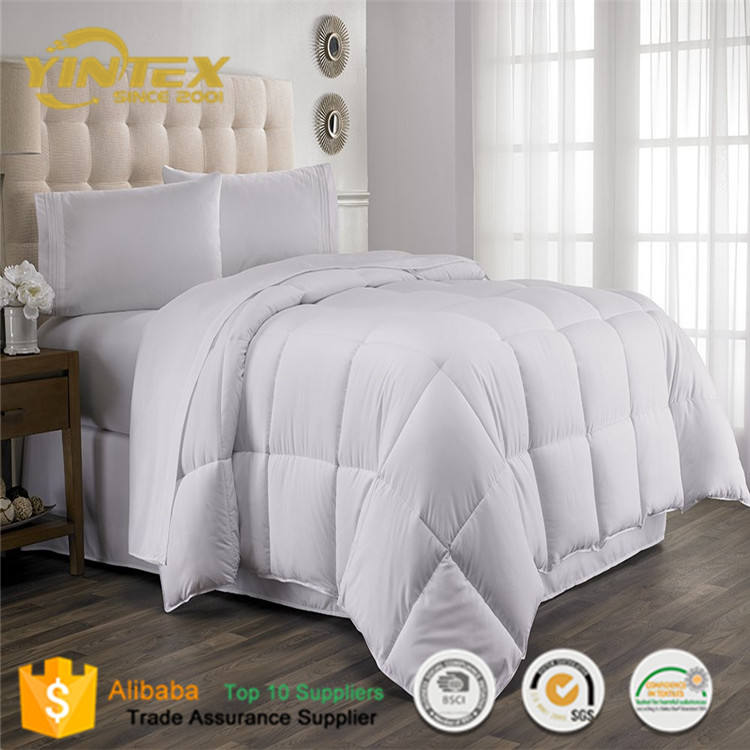 Soft Touch Microfiber Duvet Double Size Home Basic bed Comforter set