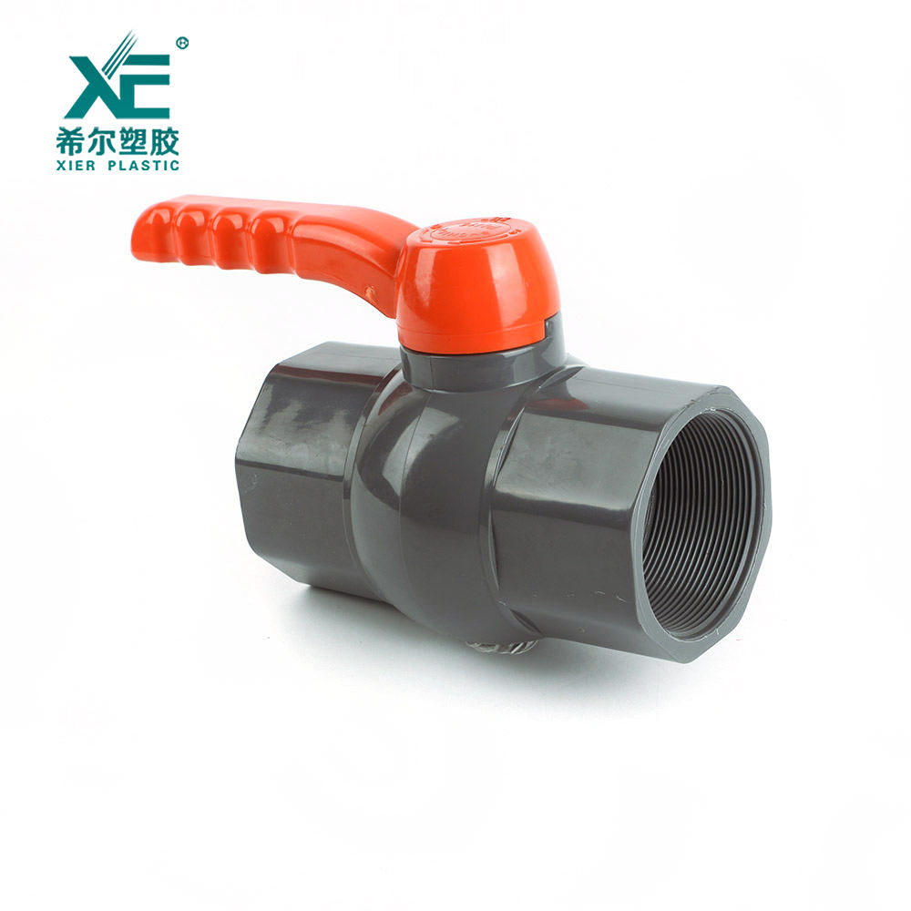 Professional quality plastic pvc pipe fittings octagonal ball valve