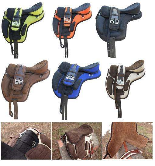 PRIMA Synthetic Treeless Saddle FreeMax Saddle