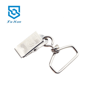 Hoge kwaliteit metalen mode Badge swivel badge clip