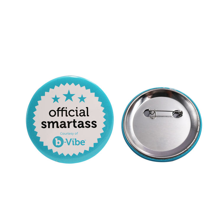 Promotion Tin Button Badge Of Custom Printing For Gifts