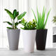 China factory direct price wholesale indoor pots plastic modern planter pots