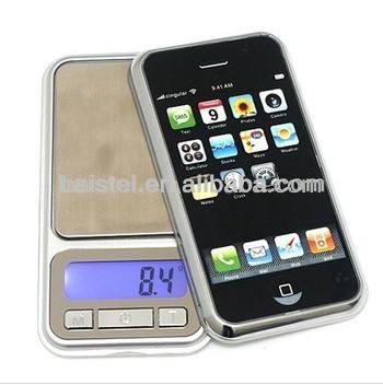 1kg*0.1g/500g*0.1g électronique de pesage balance de poche pour la fonction de calibrage