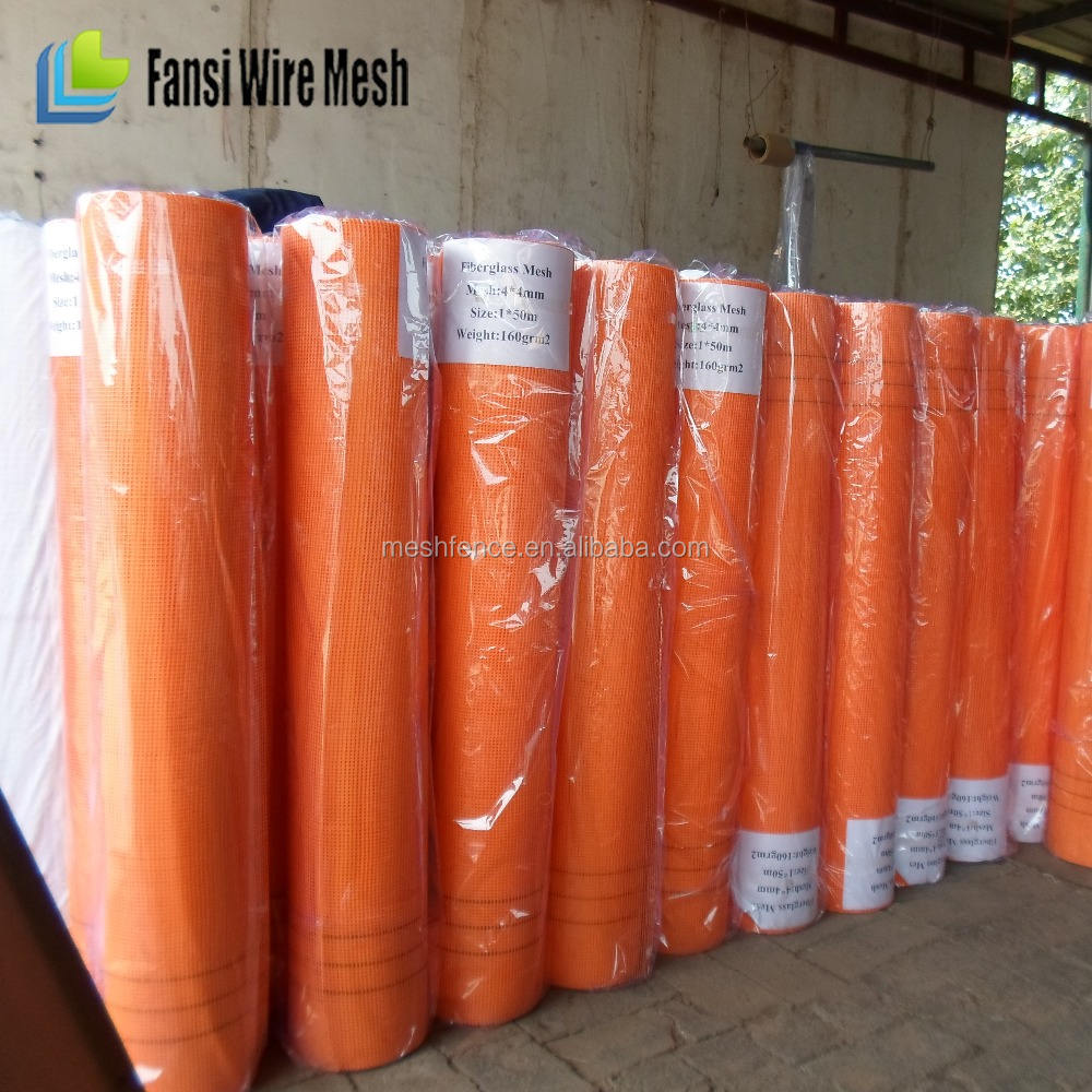 China supplier - 4x4mm 160g alkali resistant fiberglass mesh for mosaic