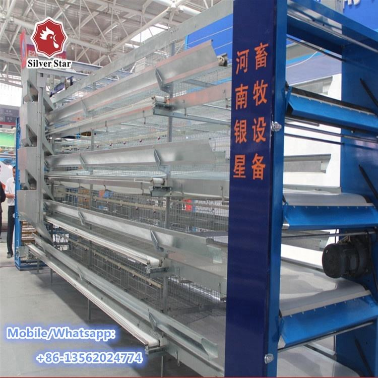 Philippines Pakistan farming equipment galvanized chicken cages layer poultry