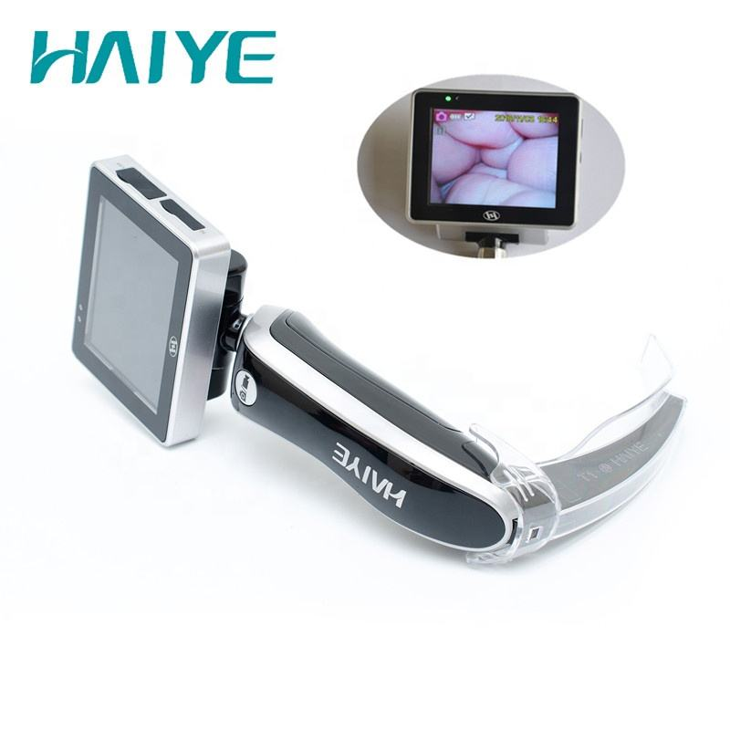 Medical Endoscope Optical Equipment,Breathing, Anesthesia and Emergency Apparatus video laryngoscope with disposable blade