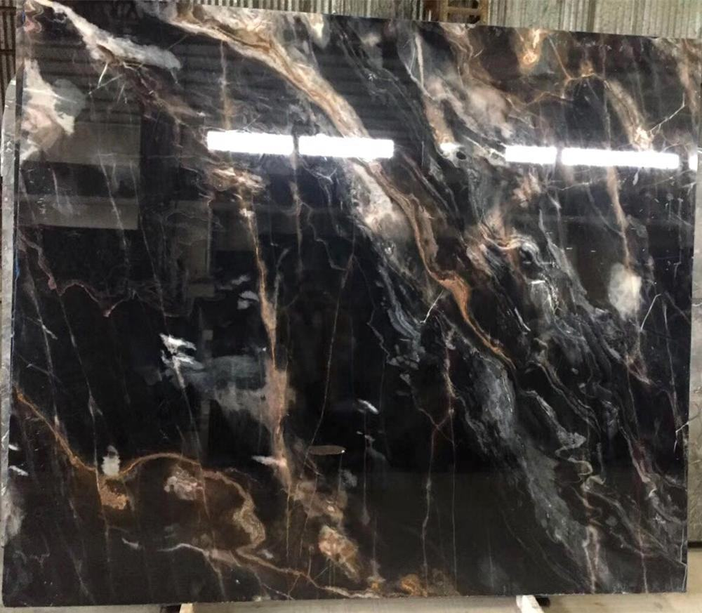 All room stone custom natural marble black rose elevator door cover engineering materials