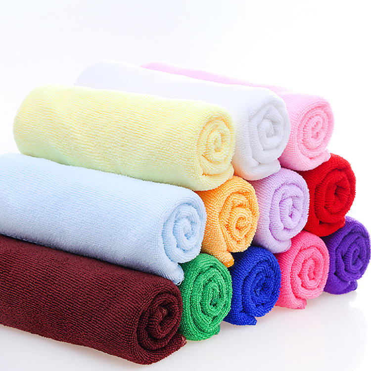 high quality woven bamboo fiber stretch microfiber swimming towel, clean towel washcloth terry towelling fabric