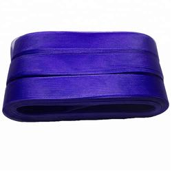 Flat thick and hard quality crinoline polyester hair braid