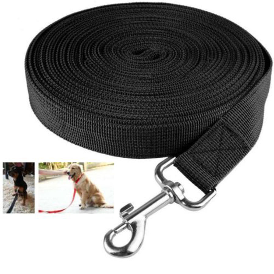10M Dog Lead Leash Training Long Line Recall Walking Obedience Hunting