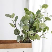 Artificial Eucalyptus Leaves Flower Arrangement For Wedding Home Decor