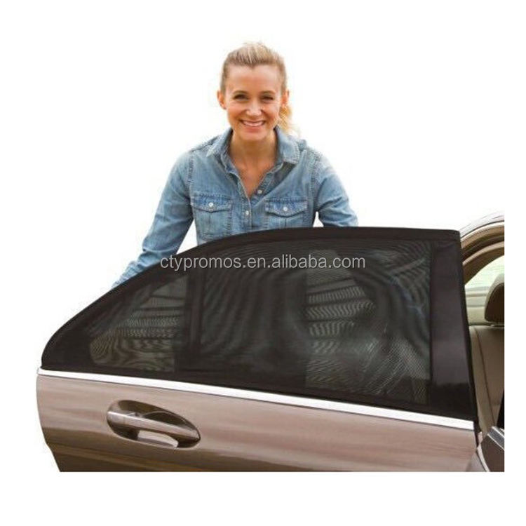Black Mesh Car Sunshade Cover Curtain For Side Window