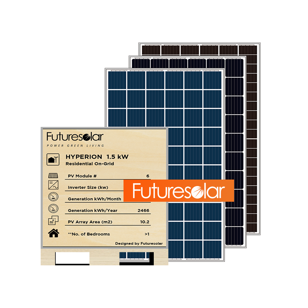 Futuresolar Complete Solar Power System 1kw solar panel system