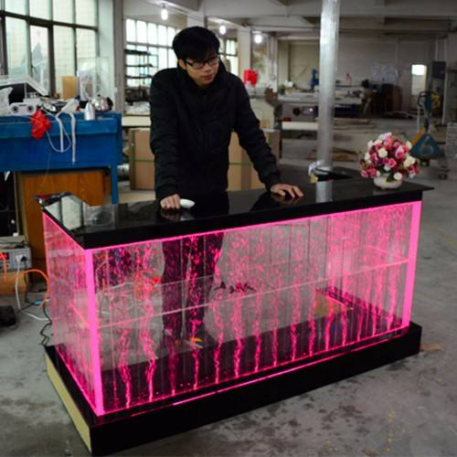 LED lighting modern led bar counter reception lighting table for bar restaurant